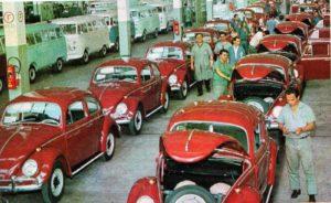 Fábrica VW - Fusca